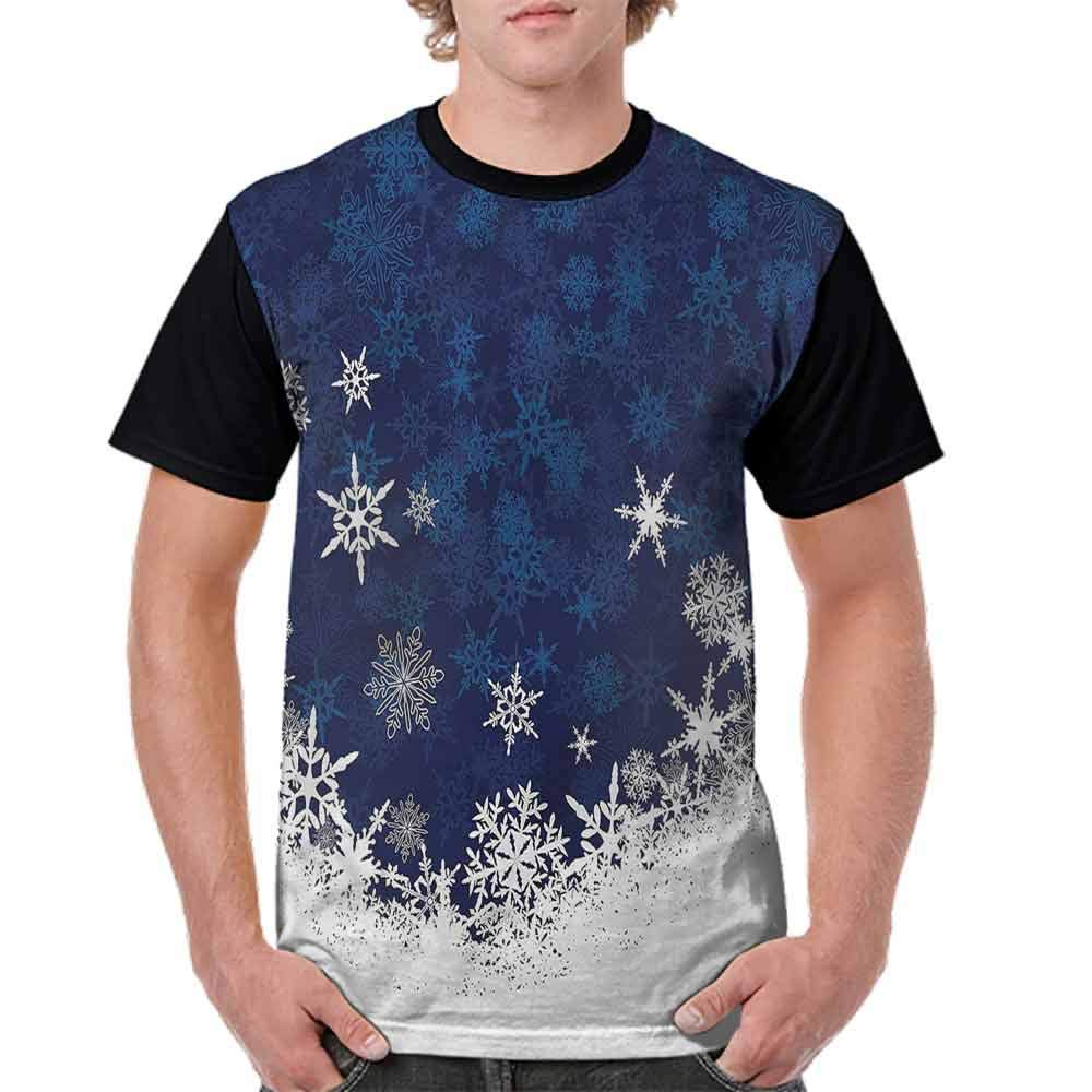 BlountDecor Fashion T-Shirt,Winter Theme Christmas Fashion Personality Customization