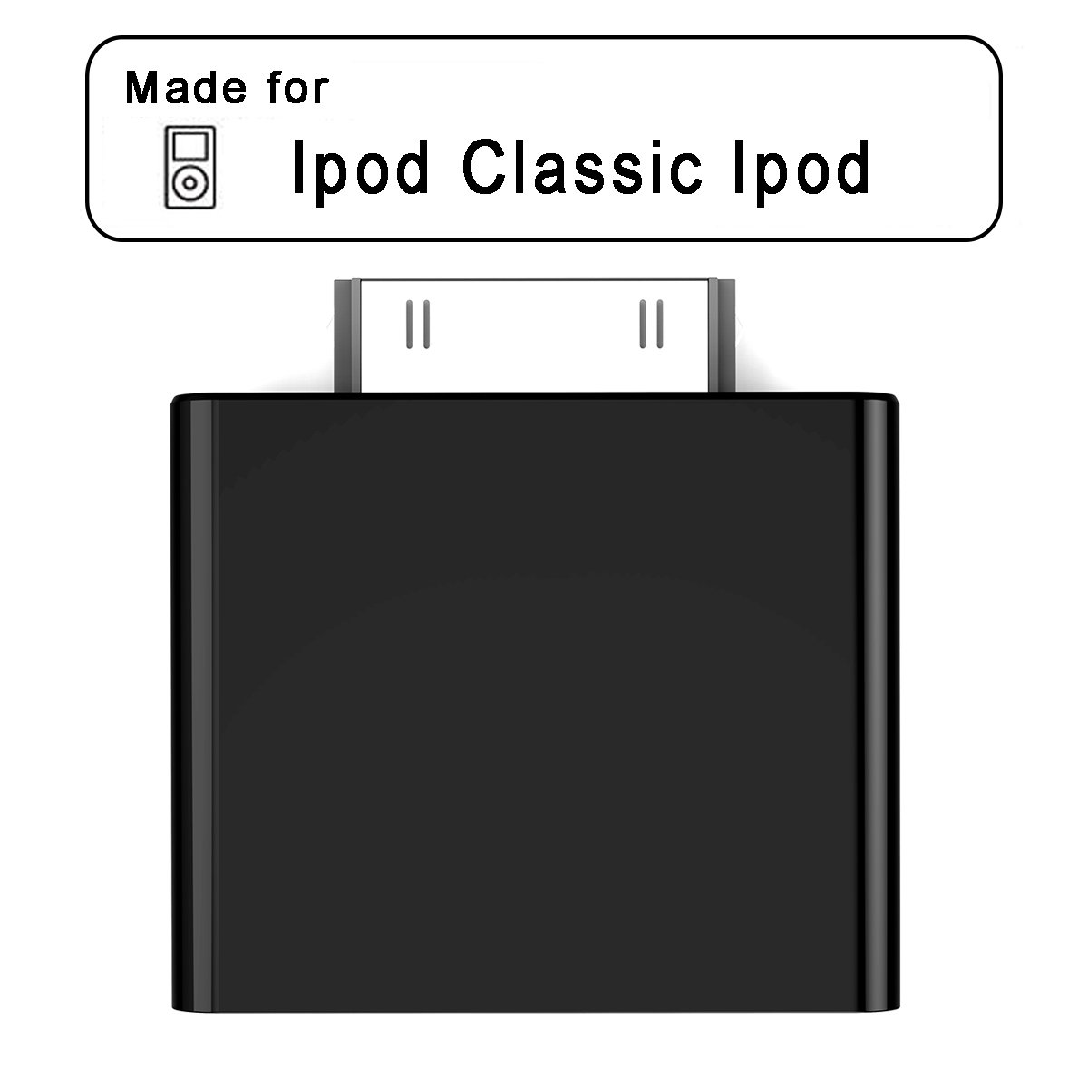 Baile 30-pin Bluetooth Transmitter IPF01 for Ipod Mini Ipod Classic Ipod (Black)