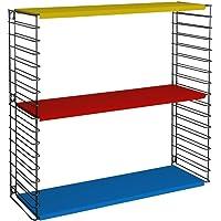 Metaltex - Estantería modular, metal, 3 estantes, 70