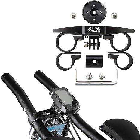 Benkeg Soporte para Bicicleta - TT Aerobar Bike Computer Sports Cámara Soporte para Bicicleta de Carretera: Amazon.es: Deportes y aire libre