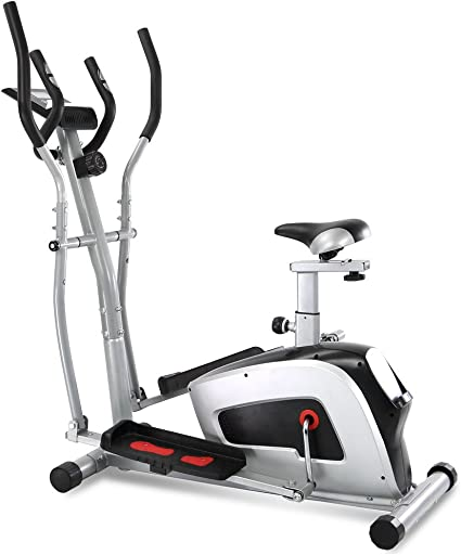 XPH magnético vertical bicicleta con pulso híbrida entrenador elíptica bicicleta estática máquina de entrenamiento 2 en