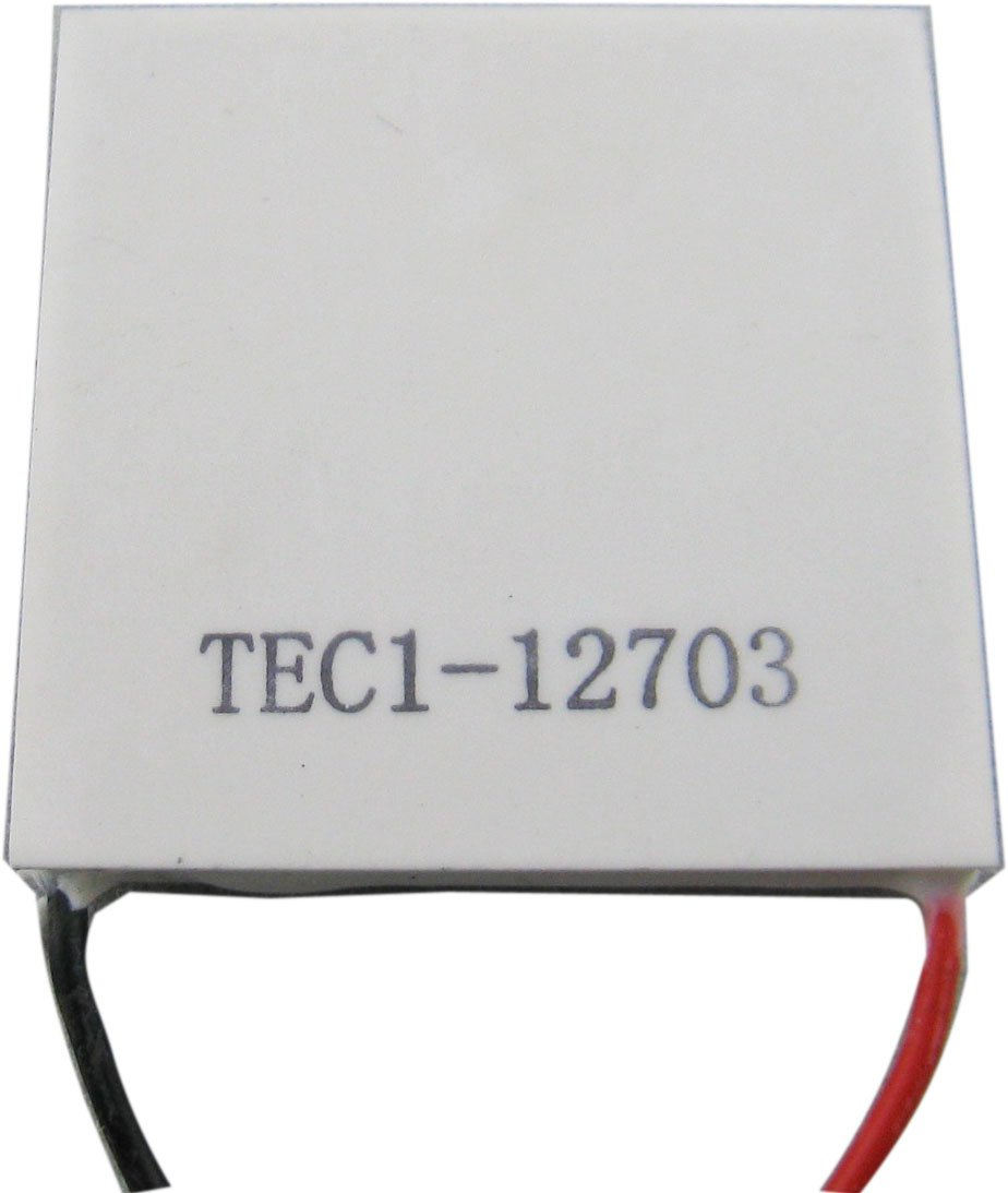 Yeeco High Power TEC Thermoelectric Cooler Generator Cooling Peltier Plate Module Thermostat Cooling Controller DC 12V 40mm40mm by Yeeco (Image #4)