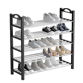 UDEAR 5 Ebenen Schuhregal Schuhständer, stabil Schuhschrank Schuhablage für 20 Paar Schuhe Groß