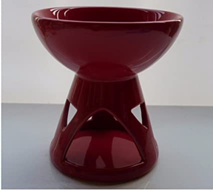 ZMINGM Velas de quemador de aceite aromático aceite esencial horno estufa de cerámica velas Aroma Portavelas