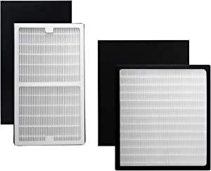 IAP-10-280 Hepa Filters C + D (with Carbon Filters) Compatible with Idylis air Purifier