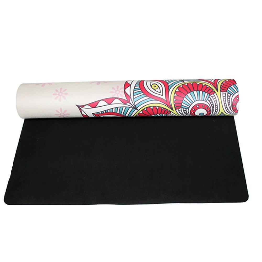 Techecho Yoga Mat Gamuza 0.4mm ecológico Delicioso Estera de ...