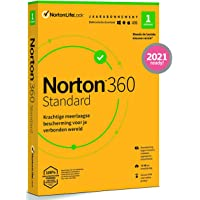 Norton 360 Standard 2020, 1 Apparaat, 1 Jaar, Secure VPN en Password Manager, PC, Mac, tablet of smartphone, envelop…