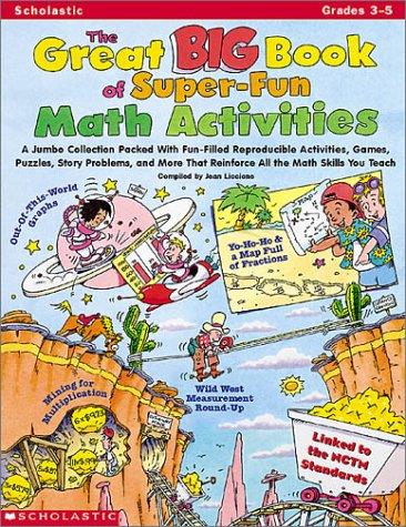 Read Online The Great Big Book of Super-Fun Math Activities pdf epub