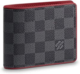 Louis Vuitton Damier Graphite Canvas Multiple Wallet N63260