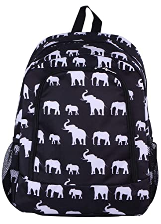 Amazon.com | Elephant Print Full Sized Backpack