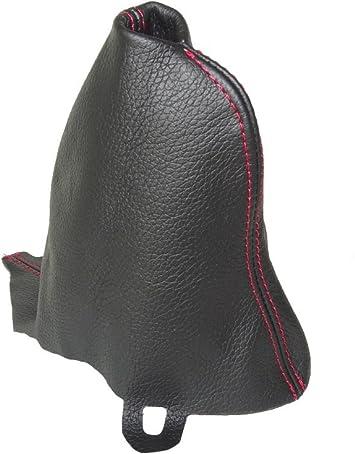 2001-06 Gear /& cuffia leva freno a mano in pelle cuciture rosse