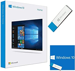 Windоws 10 Home | USB Flash Drive | 64 Bit / 32 Bit USB | Windоws 10 Home USB Memory Stick | Win 10 Home License - English 1 PC ( 2021 Update )