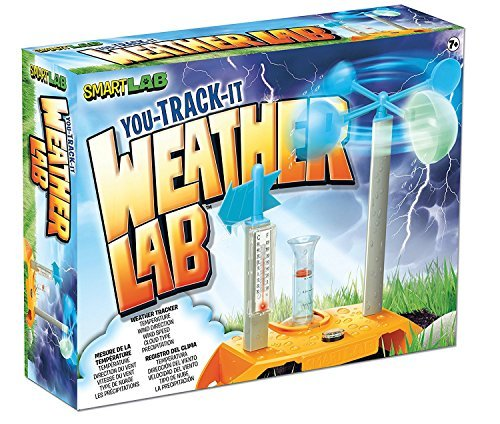 SmartLab You Track It Weather Lab! For Ages 7+ Extreme weather fun facts! You can even go online and download weather charts, great for science fair projects!