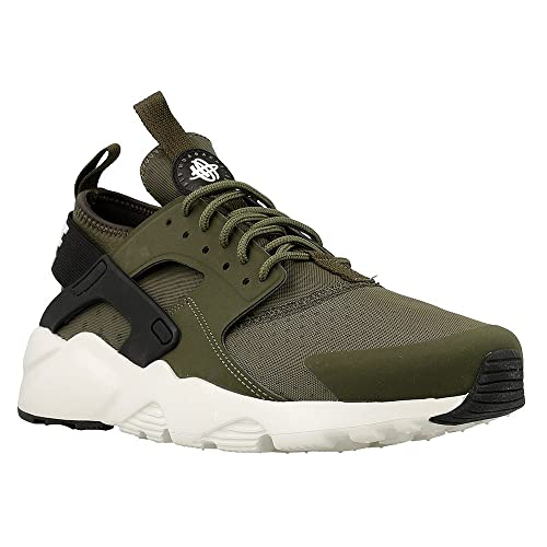 detailed look 9e1be 7799e Nike - Air Huarache Run UL - 819685300 - Colore  Nero-Verde - Taglia  44.0   Amazon.it  Scarpe e borse