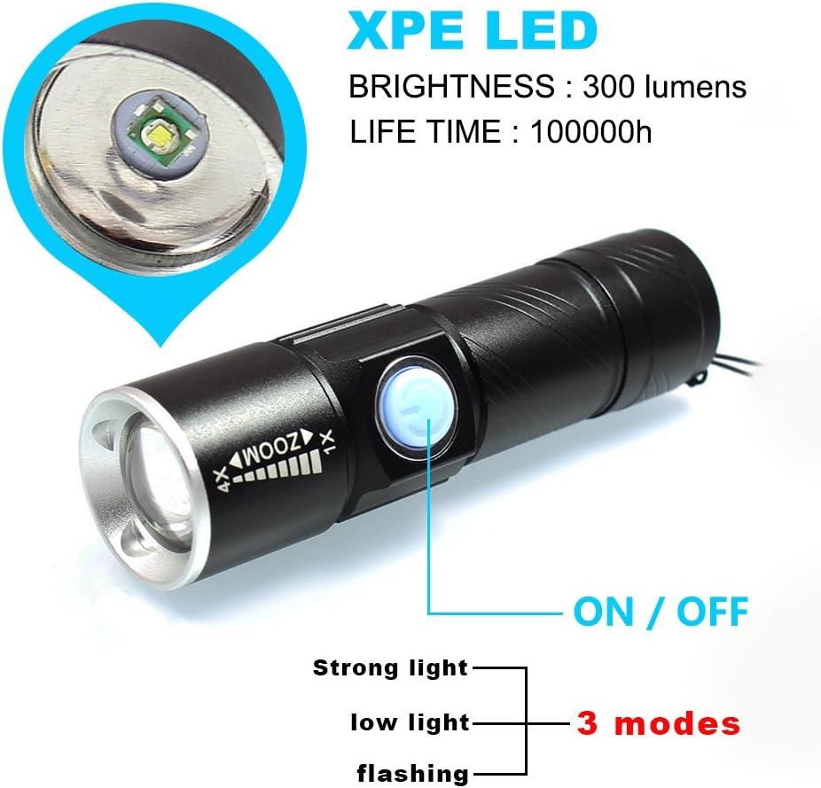 Water-Resistant DARKBEAM 9 LED Flashlight Ultra Bright Mini LED and Outdoors.