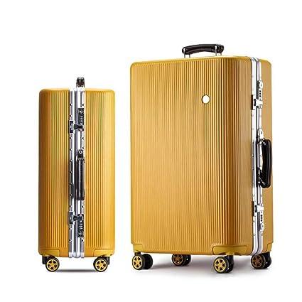 55bbcc3d4728 Amazon.com: Qzny Suitcase, New Trolley Case Women's Suitcase Travel ...