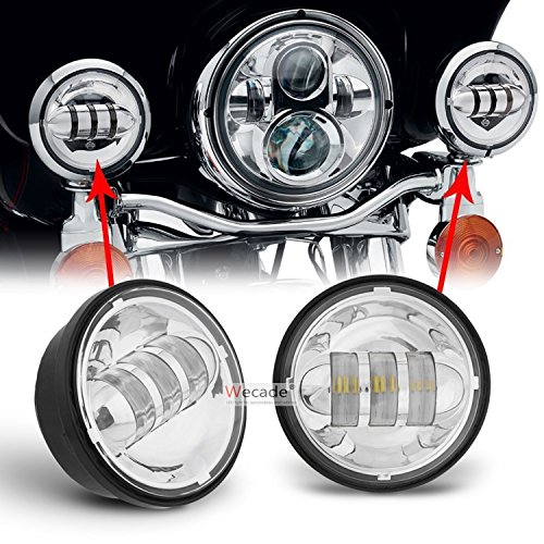 chrome driving lights - 9
