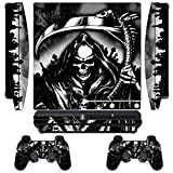 Designer Skin for Sony PlayStation PS3 SLIM System & Remote Controllers -Reaper For Sale