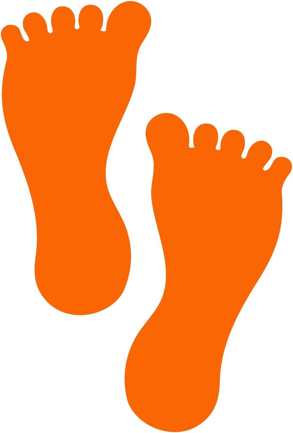 Litemark amovible Barefoot Empreinte Autocollant Stickers pour les ...