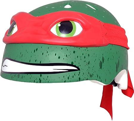 Teenage Mutant Ninja Turtle Youth Raphael Helmet, Red ...