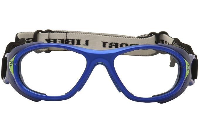 58deabb1457 Amazon.com  Liberty Sport F8 Youth Helmet Spex 619 Electric Blue Sport  Sunglasses Strap 53mm  Clothing