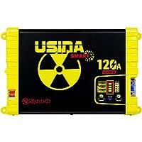 Fonte e Carregador Usina 120A Smart 12 Volts Battery Meter Bivolt