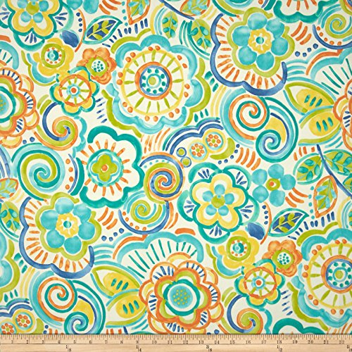Swavelle/Mill Creek Indoor/Outdoor Bronwood Caribbean Fabric By The Yard