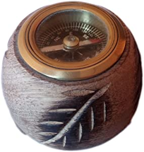 Hind Handicrafts Antique Vintage Working Compass for Home Office Outdoor Camping | Desk Accessories Paperweight