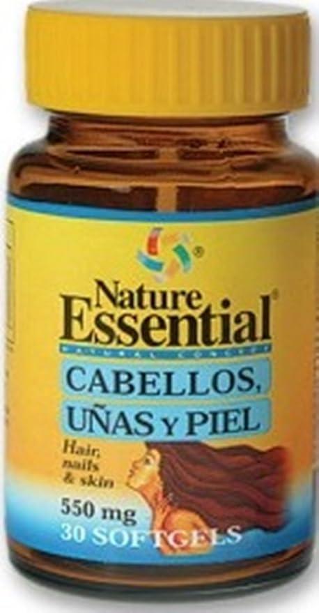 Nature Essential Cabellos, Uñas y Piel 540 mg 30 Cáps. Blandas