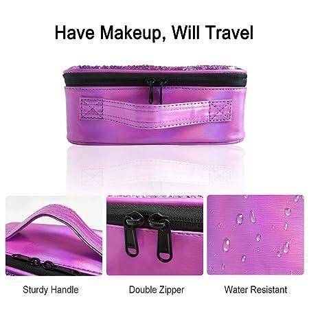 Amazon.com: Sparkly - Estuche de viaje con lentejuelas para ...