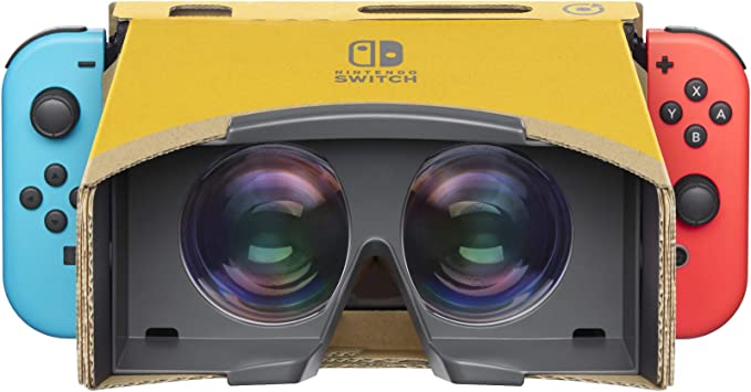 SWITCH Nintendo LABO: Kit de VR (set básico con desintegrador ...