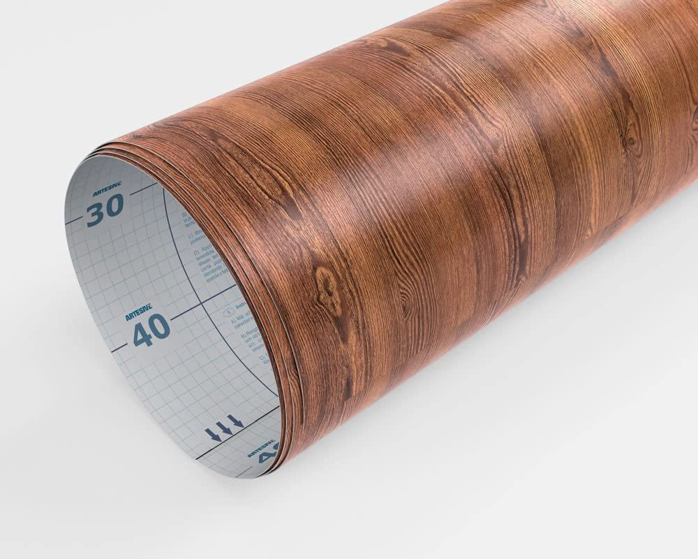 Pel/ícula Adhesiva ARTESIVE WD-051 Olmo Oscuro Mate 30 cm x 2,5 MT