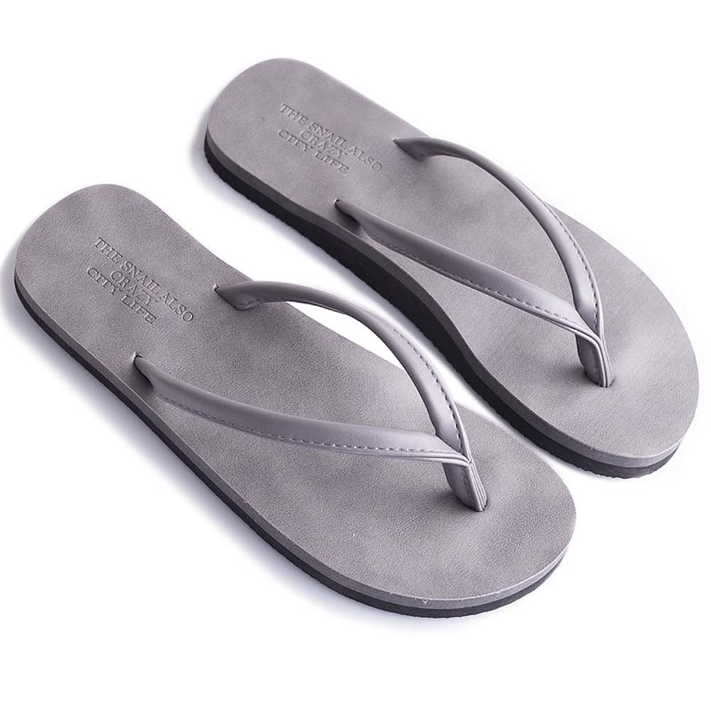 Naladoo Couple Women Men Flip-Flop Slippers Summer Non-Slip Sandals Beach Shoes