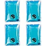 4 x Gel réutilisable Hand Warmers - chauffage instantané chaleur Packs