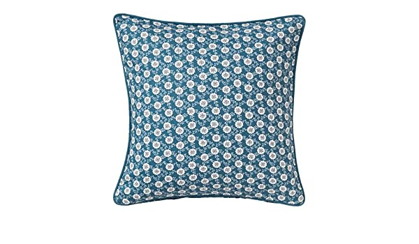 Amazon.com: Ikea 2 packs Cushion cover, blue, white, 20x20 ...