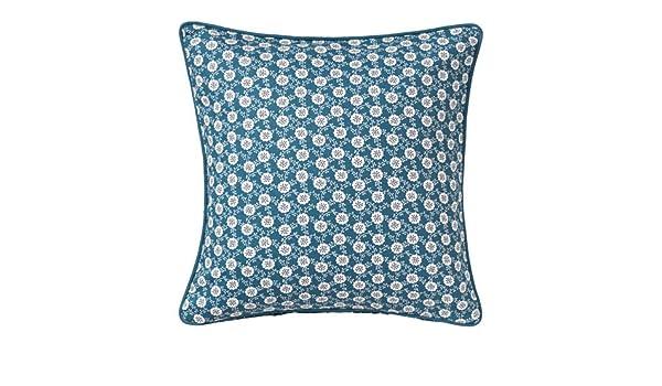 Amazon.com: Ikea 2 packs Cushion cover, blue, white, 20x20 ...