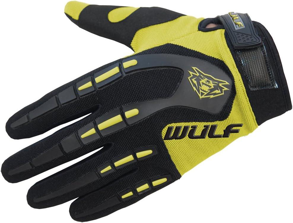 Wulfsport Kids Children Attack Motocross Gloves Junior Offroad Trials Mountain Bike Pink XS