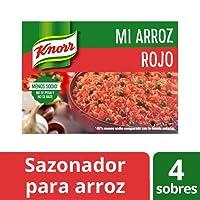 Knorr Sazonador Mi Arroz Rojo 68 gr