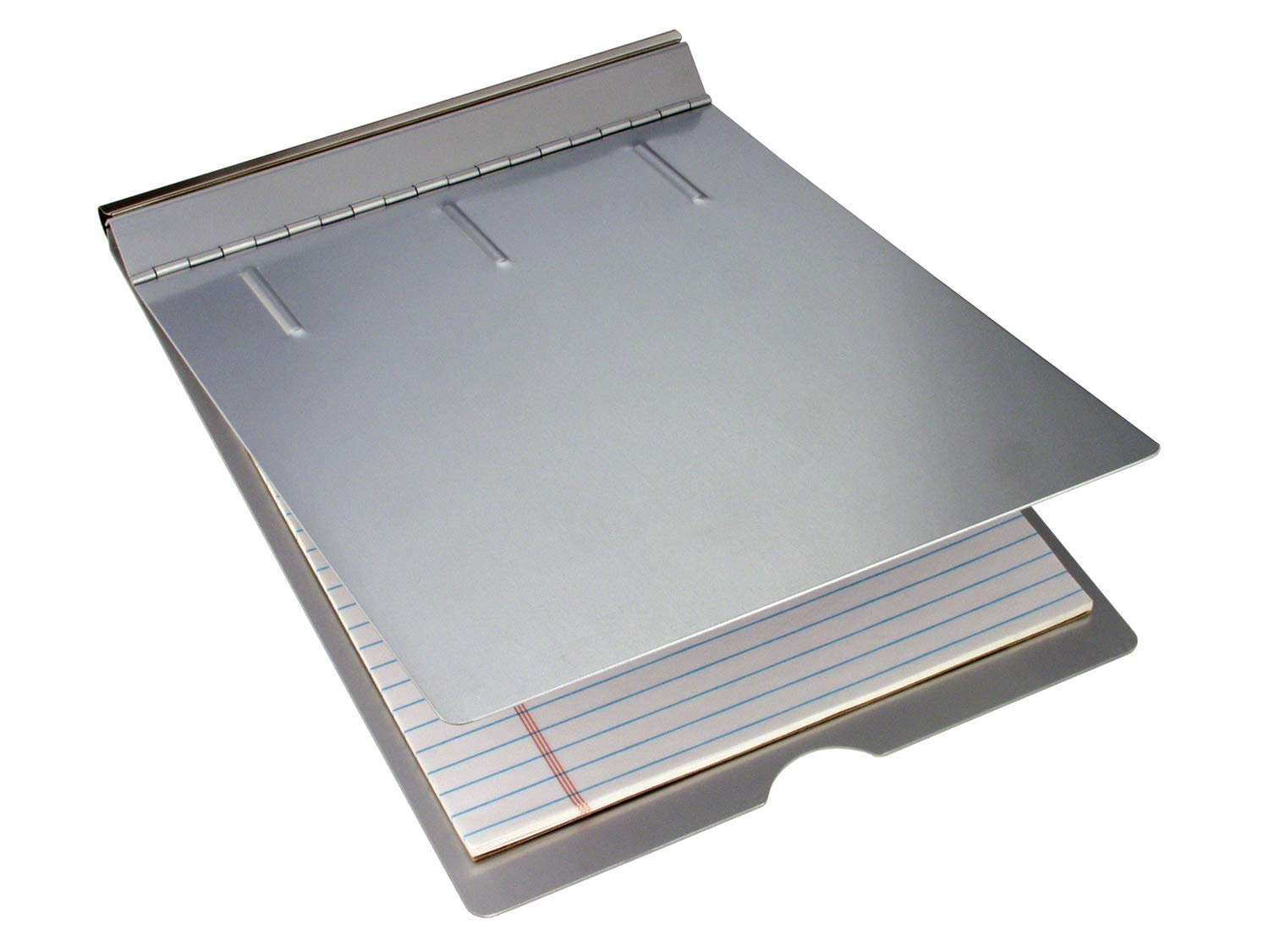 Saunders Recycled Aluminum Springback Sheet Holder - Durable Document Holder with Privacy Cover. Stationery Supplies by Saunders