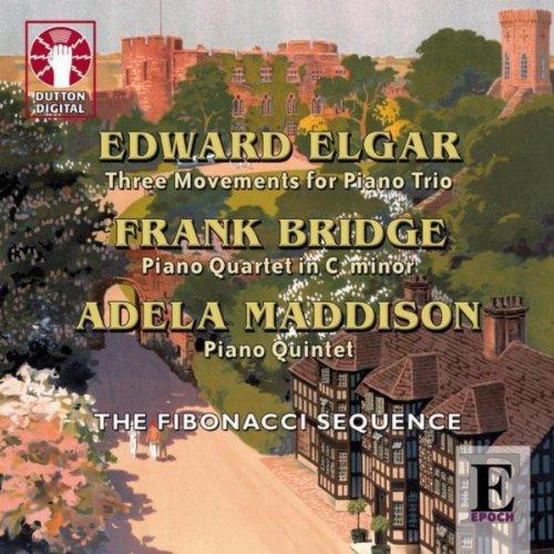 Edward Elgar, Adela Maddison & Frank Bridge - Piano Chamber Music