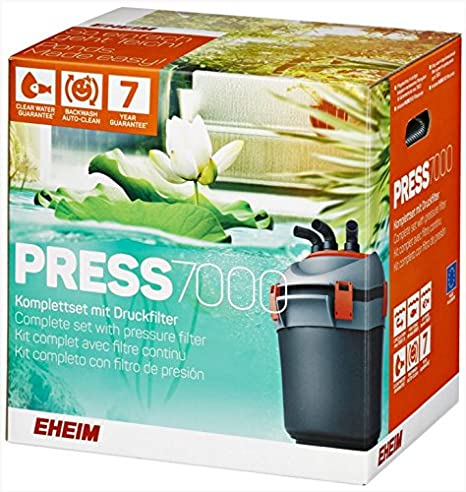Eheim PRESS 7000 kit complet avec filtre continu Aquariophilie 4011708520130