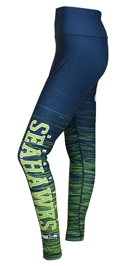 fd4e0d71187 Image Unavailable. Image not available for. Color  Concepts Sport Seattle  Seahawks Women s NFL Yard Lines Leggings ...