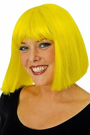 Coco peluca amarilla Kanekelon