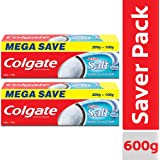 Colgate Active Salt Toothpaste, 300gm Saver Pack (Pack of 2)
