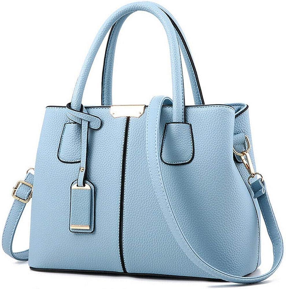 Women Leather Handbag Ladies Tote Messenger Shoulder Purse Satchel Crossbody Bag