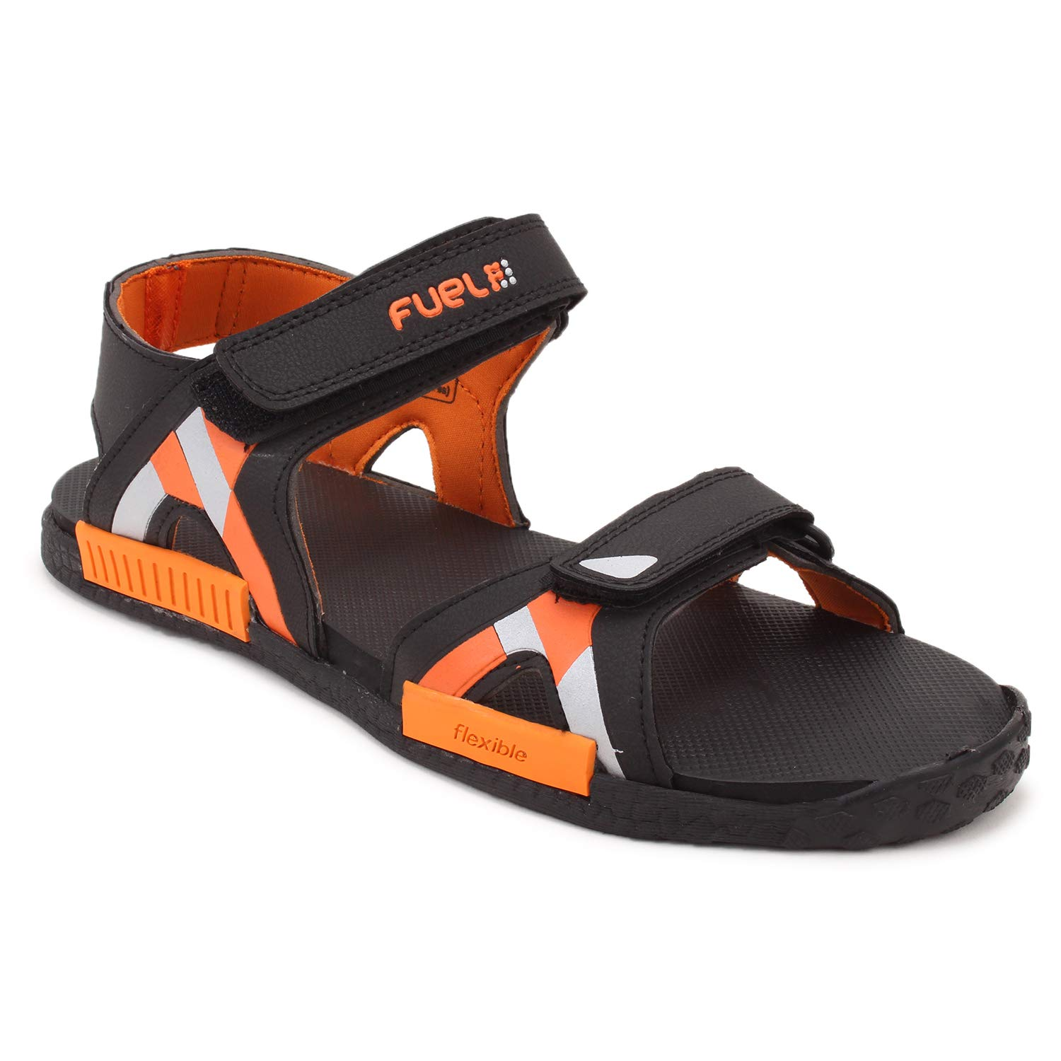 4a37533bf88a FUEL Men s Boy s Fashion Comfort Solid Phylon Sole Sports Floaters   Sandals  (6 UK
