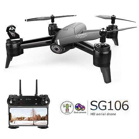 TLgf Drone con cámara de Flujo óptico 4K, aeronave de Cuatro Ejes ...