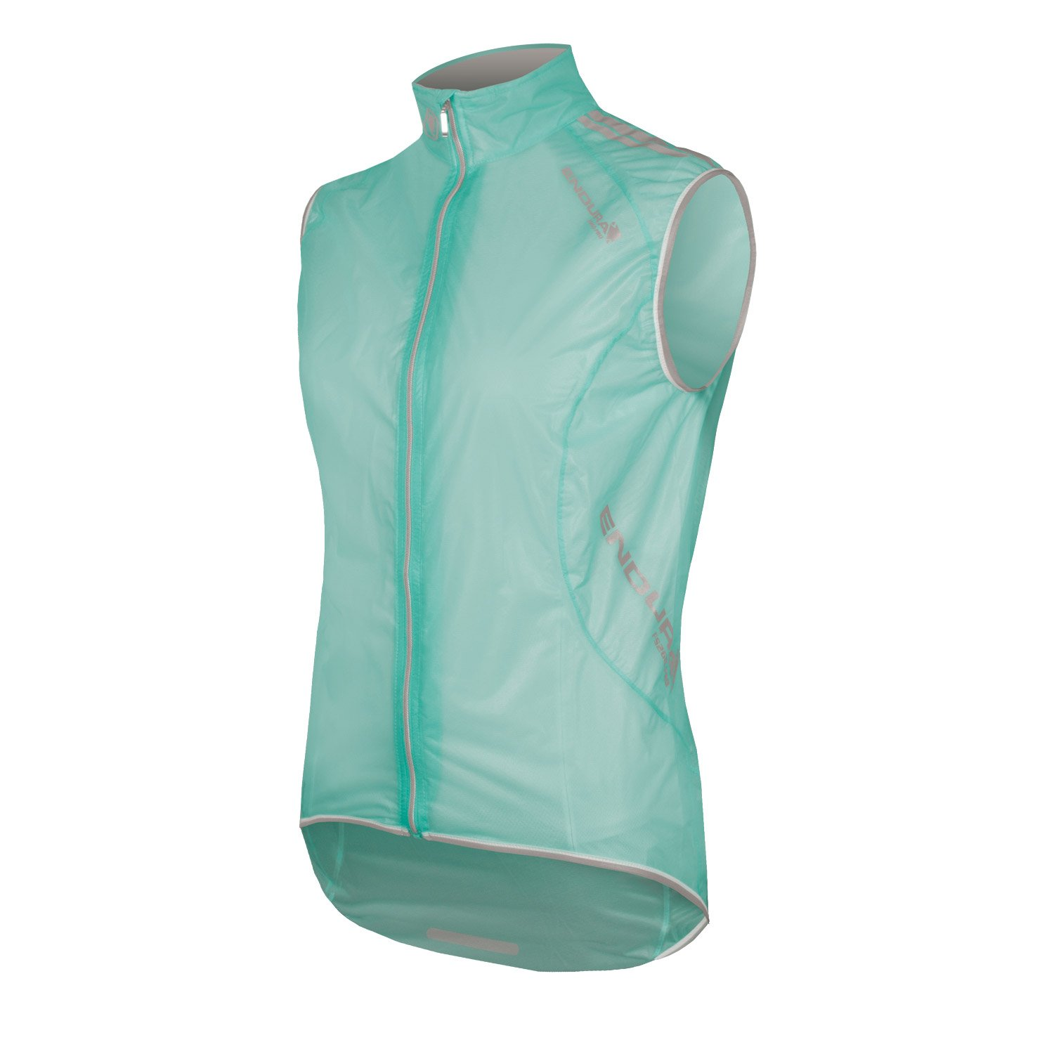 Endura Womens FS260-Pro Adrenaline Cycling Gilet Translucent Turquoise, Small
