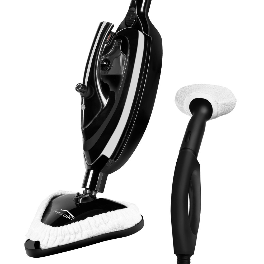 Famirosa Steam Mop, Steam Cleaner Hot Steam Mops & Carpet Floor Cleaning Machines Hardwood Shark Famicare