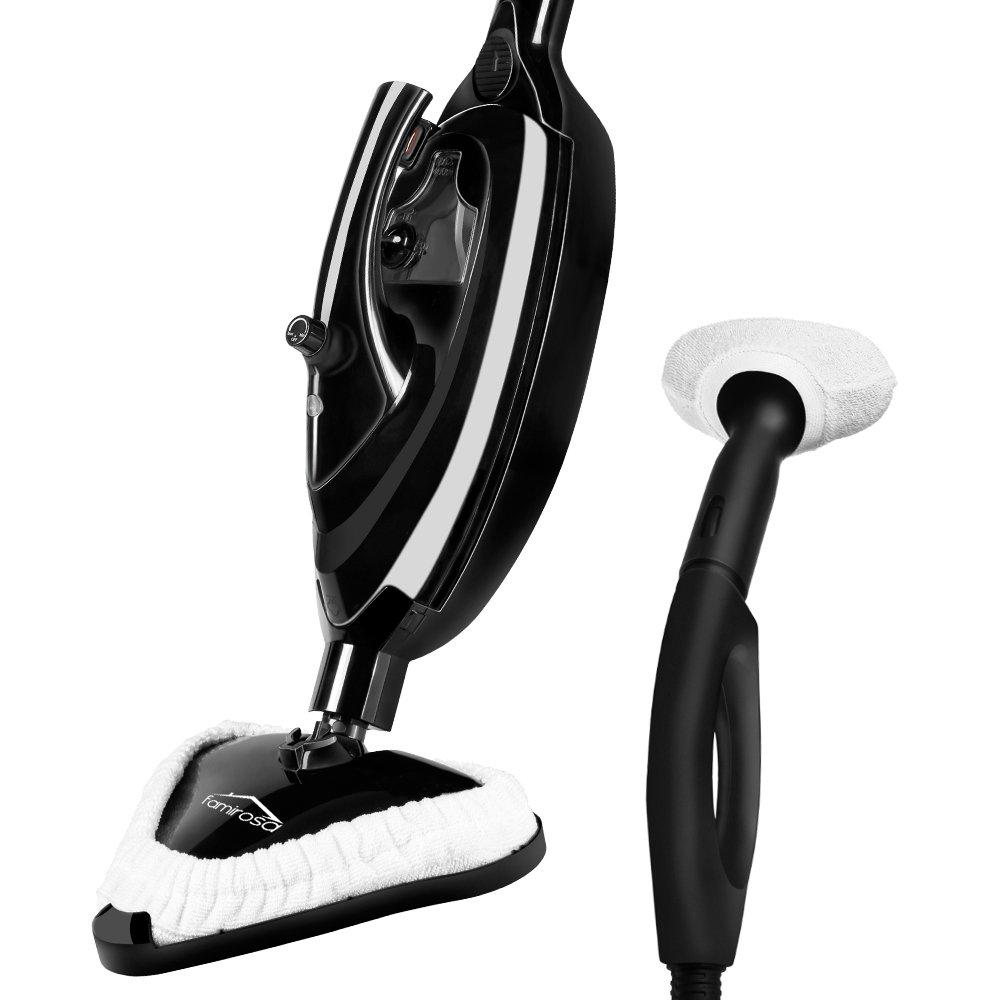 Famirosa Steam Mop, Steam Cleaner Hot Steam Mops & Carpet Floor Cleaning Machines Hardwood Shark